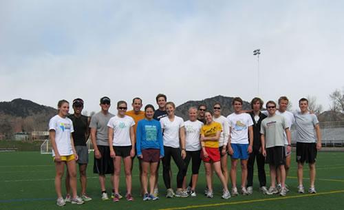 2010 University of Colorado Triathlon Team
