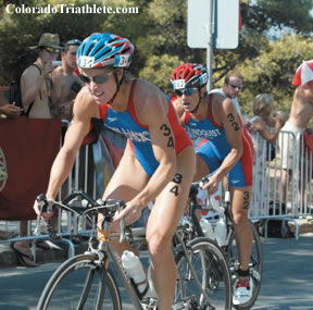 Williams & Lindquist - Photo by Jay Prasuhn of Triathlete magazine