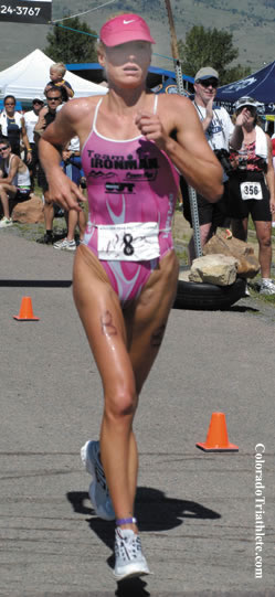 Amanda Gillam at Boulder Peak 2004