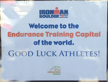 IM Boulder welcome sign