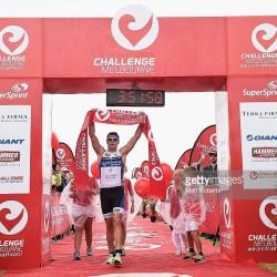 Leon Griffin wins Challenge Melbourne 70.3