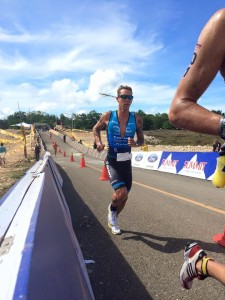 Van Berkel at 70.3 Philippines (photo E. Brogan)