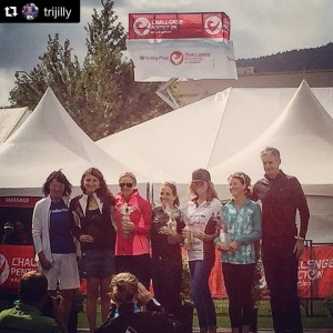 Smith places third in Penticton (photo by L. Smith)