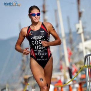 Cook Claims First Career ITU World Cup Podium Finish