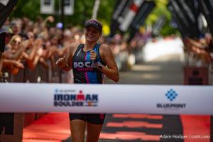 Hawaii's Lectie Altman wins Ironman Boulder in 10:01:09.