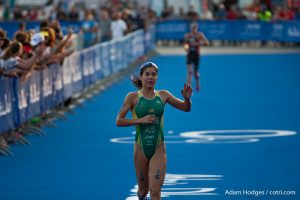Ashleigh Gentile opened the season with a second place at ITU Abu Dhabi