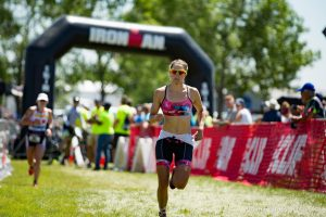 Ellie Salthouse outsprints Jeanni Seymour to win Ironman 70.3 Boulder