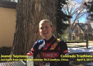 Video: Jeanni Seymour On Her Win at IRONMAN 70.3 Liuzhou