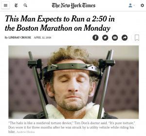 NYT Features Tim Don's Return to Racing